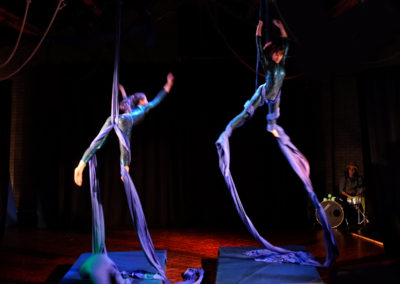Skylight Circus NW Aerial Silk Performers