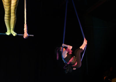 Skylight Circus Manchester NW Aerial class Silks
