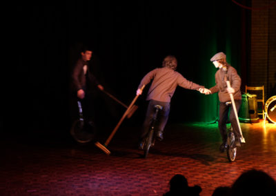 Skylight Circus Manchester NW Theatre Performer Unicycle