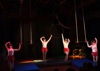 Skylight Circus Manchester NW Aerial Hoop Trapeze Training