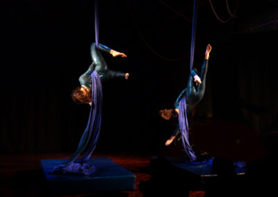 Skylight Circus Manchester NW Aerial Silk Performers