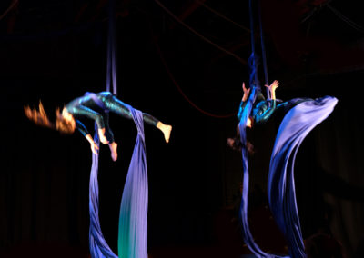 Aerial Silk Performers For Corporate Events