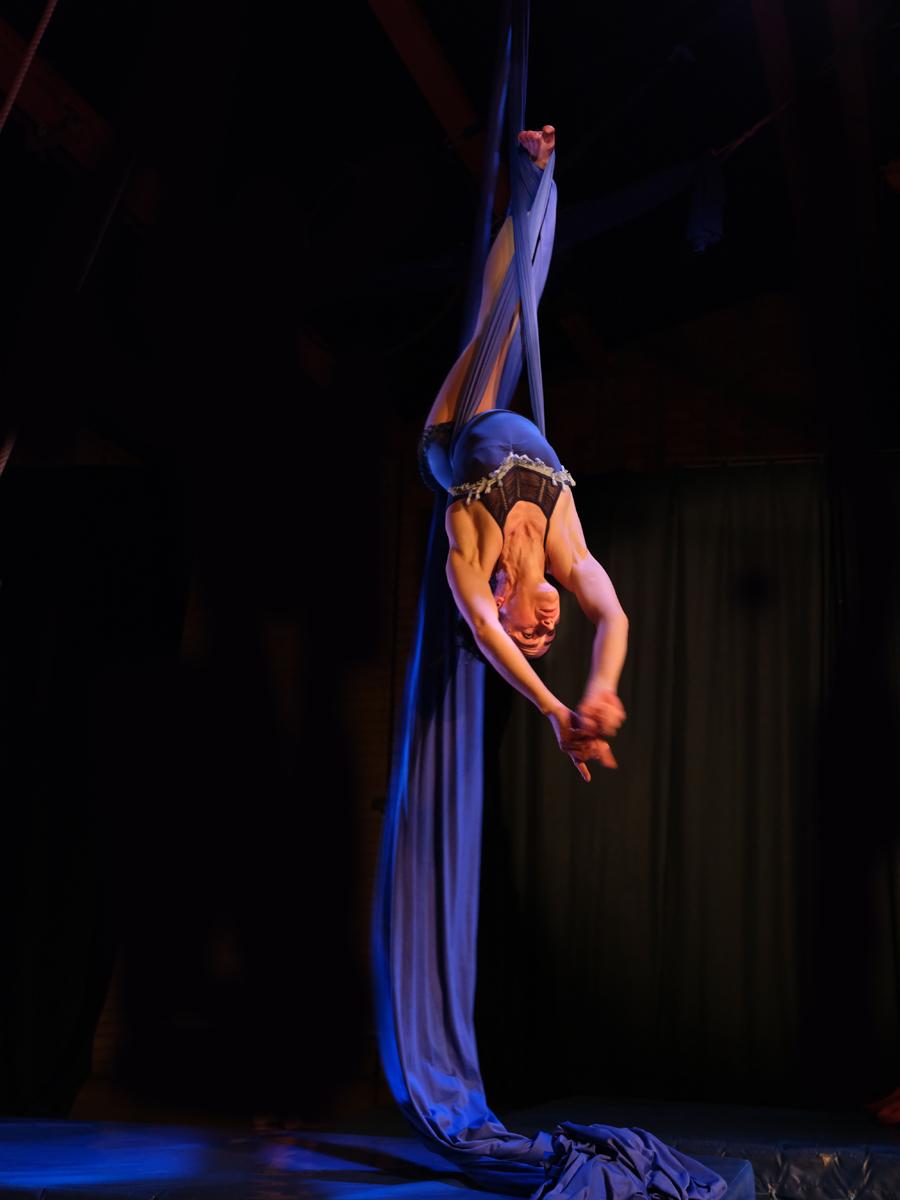 Skylight Aerial Silk Trapeze Hoop Training