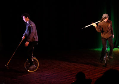 Skylight Circus Manchester Unicycle Performer
