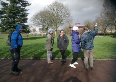 HLF funded Skylight Circus Arts - Research Group in Broadfield Park