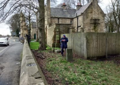 HLF Funded Project - Skylight Circus Arts - Young People Research Group - Rochdale Cemetery