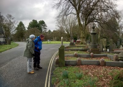HLF Funded Project - Skylight Circus Arts - Young People Research Group - - Rochdale Cemetery