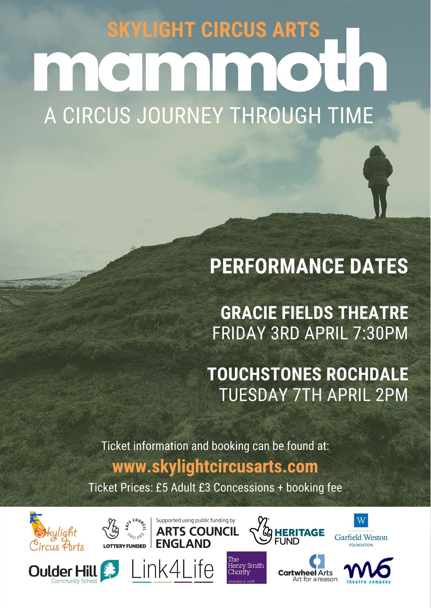 skylight circus arts poster performance mammoth 2020