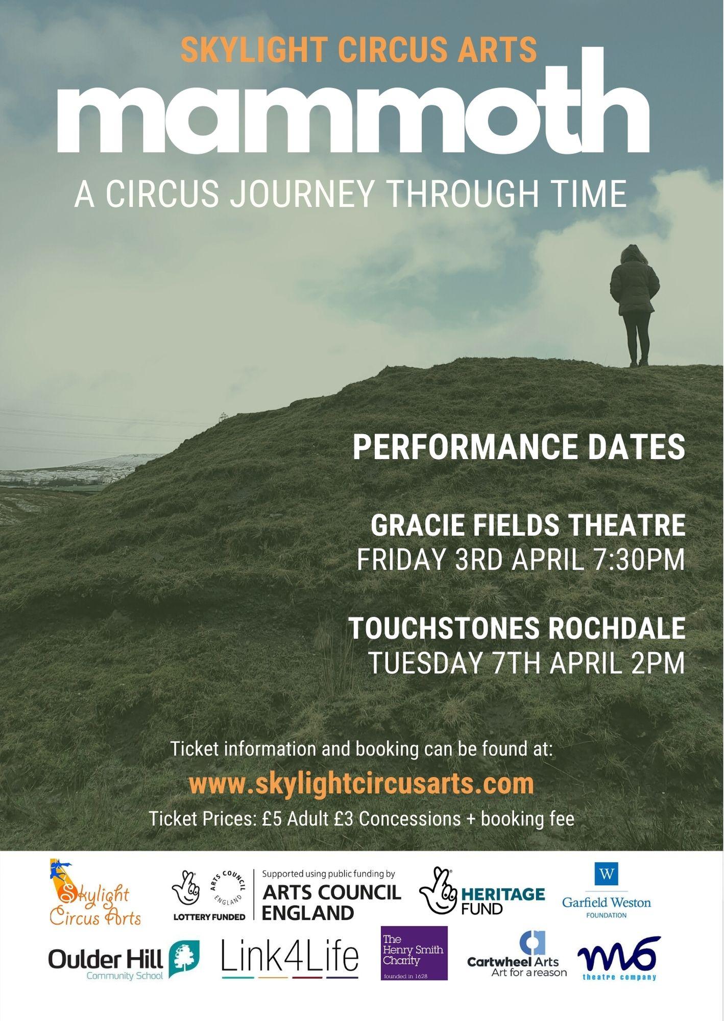 skylight circus arts poster performance mammoth 2020