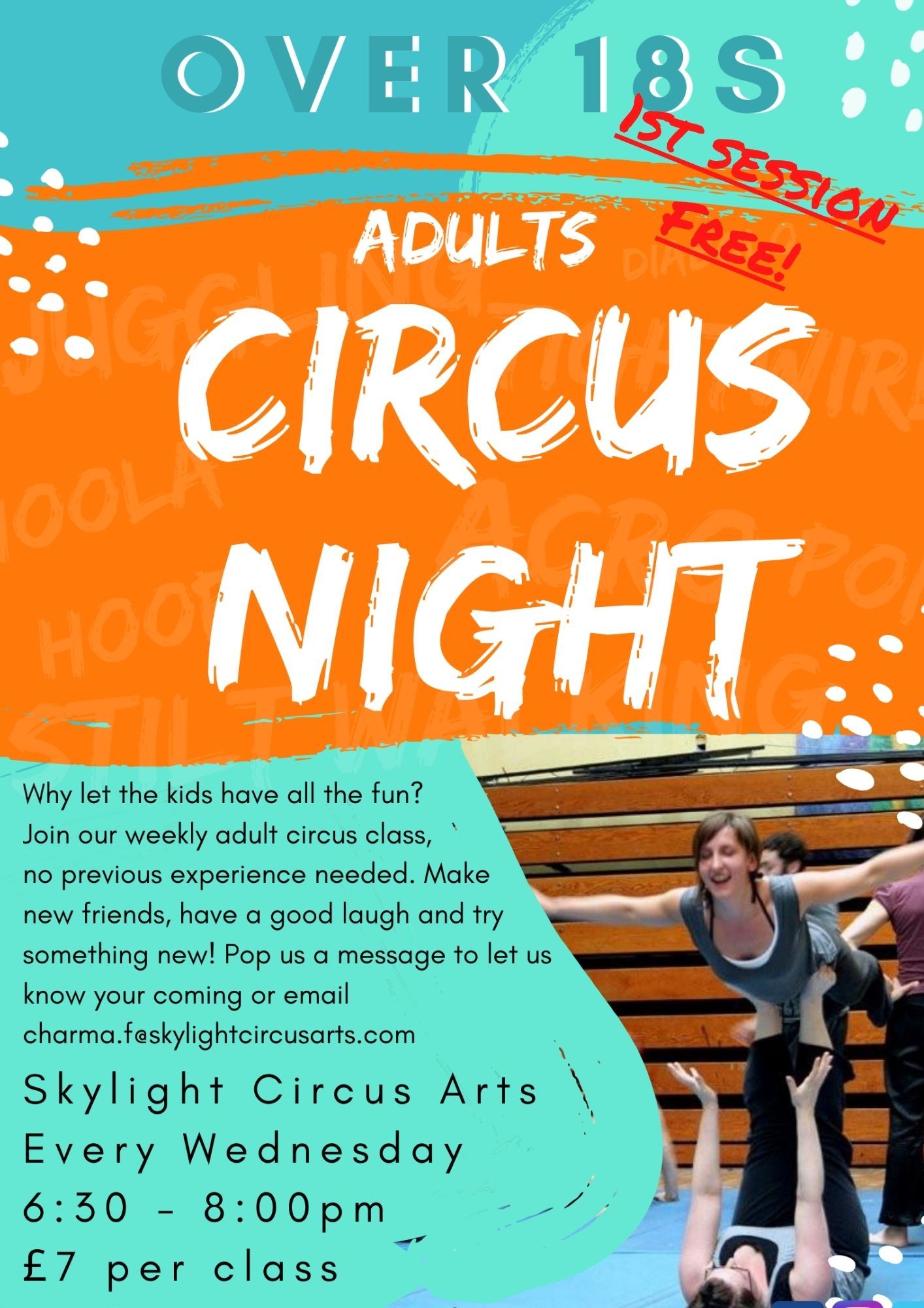 Adult Circus Night 1st session free